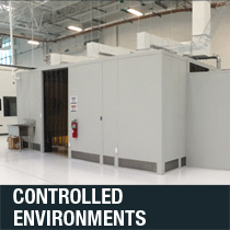 cleanrooms and other controlled environments