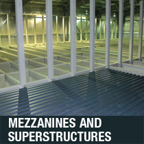mezzanines and superstructures