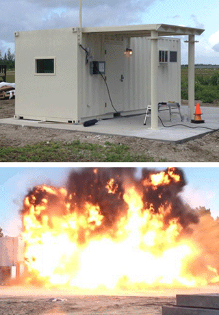 military blast mitigation and ballistic protection