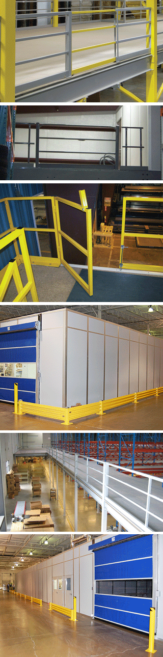 Ebtech mezzanine safety equipment