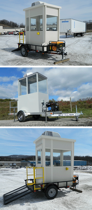 Ebtech Trailer Mounted Guard Buidings