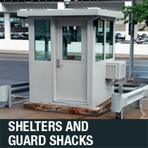 guard shacks and shelters