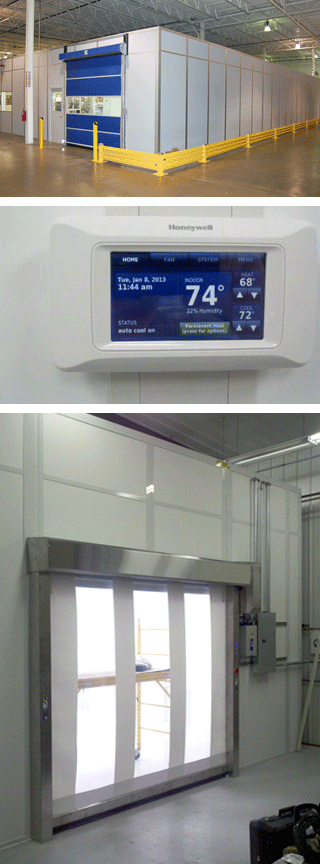 Ebtech Cleanroom features