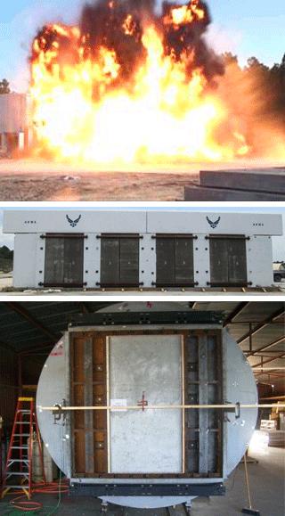 Ebtech Blast Panel Testing