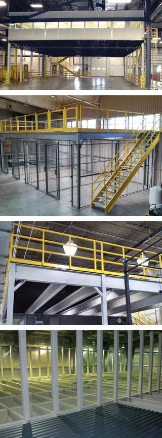 Ebtech structural mezzanines