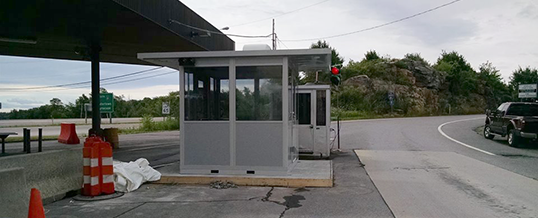 Guard Booths for U.S. Border Patrol